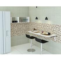 Mesa Dobravel 40x90 Pequenos Espaços Frete + Barato