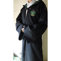Disfraz Harry Potter Slytherin Draco Malfoy Cosplay Gabardin