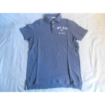 Exclusiva Polera Pique Abercrombie And Fitch Talla Xs-s