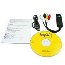 Tarjeta Capturadora Video Audio Usb 2.0 S-video Easycap Rca