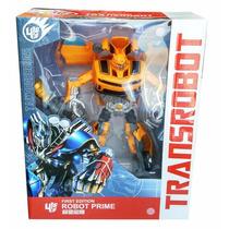 Juguete Transformers Bumblebee, Optimus Prime 24cm