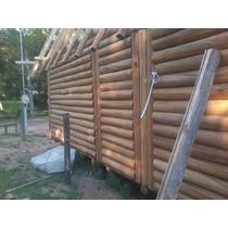 Machimbre Cabañero 1x5 Simil Tronco - En Eucaliptus Grandis