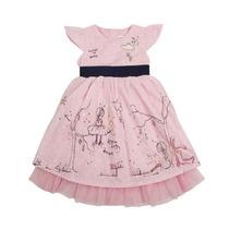 Vestido Niña Rosado Importados Marca Nova Kids 2-3 Años