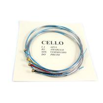 Cordas Mauro Calixto Para Cello Violoncello 4/4 Completo