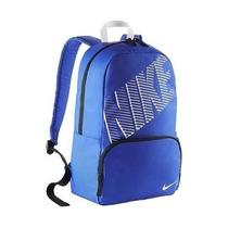Mochila Nike 100% Original Escolar O Gimnasio Color Azul Rey