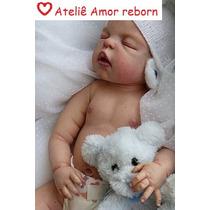 Bebe Reborn Henry Corpo Inteiro Vinil Siliconado Encomenda