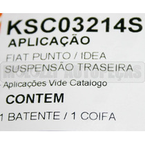 Kit Amortecedor Fiat Punto 1.4/1.8 2007/ - Traseiro