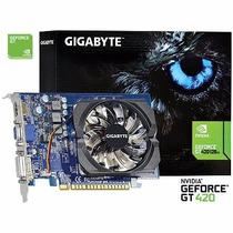 Placa Vídeo Gigabyte 2gb Gt420 Ddr3 128 Bits Gt 420 2monitor