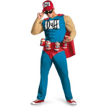 Disfraz Duffman The Simpsons Adulto Traje Con Musculos
