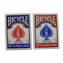 2 Mazos Baraja Bicycle Standar Para Poker O Magia Con Envío