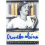 Barajita Oswaldo Olivares Autografiada Museo Beisbol # 54/70