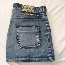 Pollera Mini Falda Jean Nasa Talle 38