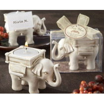 Recuerdos Boda Bolo Vela Elefante Suerte Bautizo Babyshower