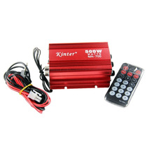 Mini Amplificador Kinter Ma-700 2ch Usb Fm Auxiliar 12v 2a