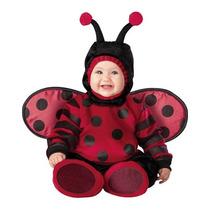 Disfraz Bebe Catarina Mariquita Niña Primavera Halloween