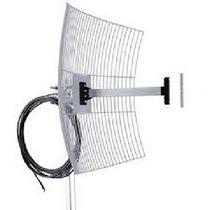 Mm2425f10 Antena Parábola De Grade 2.4 Ghz 25 Db C/ Cabo 10m