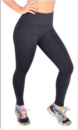 783448a22 Promo Calça Legging Suplex Preta Cós Dobrável Confortável - R  45