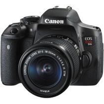 Camera Canon Eos Rebel T6i Dslr Ef-s 18-55mm + 32gb Classe10