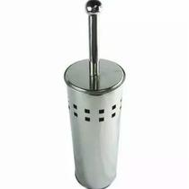 Escova De Limpar Vaso Sanitário Com Suporte Aço Inox