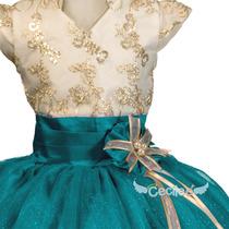 Vestido De Fiesta Niña De Lujo Exclusivo Pajecita 06