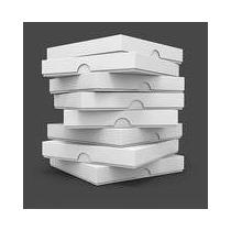 Caixa Pizza Quadrada 35cm - Personalizada