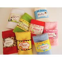 Recuerdos Personalizados Bautizo Baby Shower Toalla Color