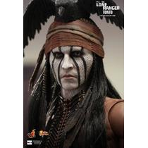 Hot Toys Johnny Depp The Lone Ranger Tonto Filme Cinema Dvd