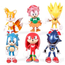 Envío Gratis 6 Sonic The Hedgehog