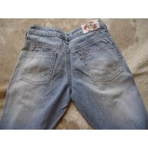 Calça Feminina Jeans Blue Steel Tam 40