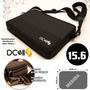 Bolso Notebook 15.6 Tela Jean Ecocuero Acolchado C/bolsillo