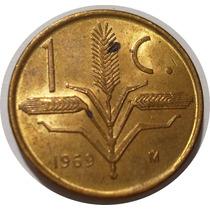 1 Centavo 1969 Espiga - Estados Unidos Mexicanos - Nuevo