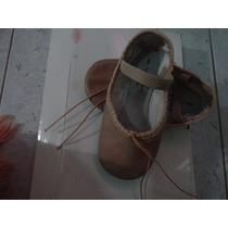 Zapatillas Ballet En Piel Abt Sporlights Nro 9 Importadas
