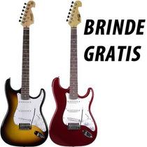 Guitarra Strato Tagima Mg-32 Mg32 Varias Cores Frete Gratis