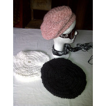 Boinas Tejidos A Crochet