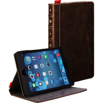 Funda Tipo Libro Retro Ipad 2 3 4 Ipad Air Book Case Leather