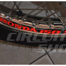 Kit Adesivo Roda Refletivo Moto Titan Fan - Honda 150 Sport
