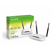 Router Inalambrico Tp-link Tlwr841n 300mbps 2 Antenas Wifi