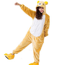 Pijama Disfraz Kigurumi Osito Rilakkuma Polar Adultos