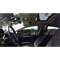 Ford Fusion Titanium, 2.0 Bi-turbo, 2015 Teto, Branco Perola