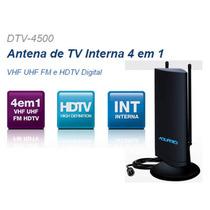 Antena Interna De Multirecepção Tv Hdtv Dtv4500 Tv Digital
