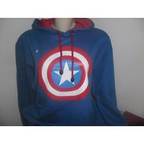 Blusa De Moleton ( Capitão América)