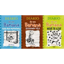 Diario De Um Banana - Volumes 6, 7 E 8 Capa Dura