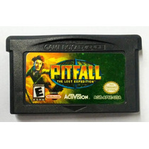 Jogo Pitfall The Lost Expedition Gameboy Advanced Gba Fita