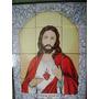 Mayólica San Cayetano, Loudes, Jesús 45 X 60 Cm 12 Azulejos