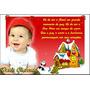 40 Cartão De Natal Personalizado Bebê Familia Empresa