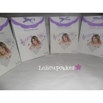 Souvenir Bolsita Personalizada Violetta
