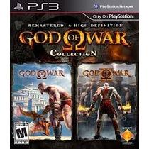 God Of War Collection Ps3 Mídia Física
