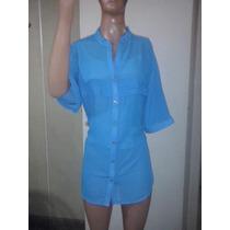 Camisas De Gasa Mangas Cortas T M A Xxxl - Liquidacion $ 440