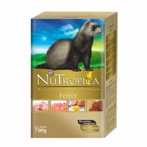 Ração Nutrópica P/ Furão Ferret 700g Alimento Super Premium