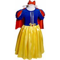 Disfraz Blancanieves Vestido Princesas Primera Calidad